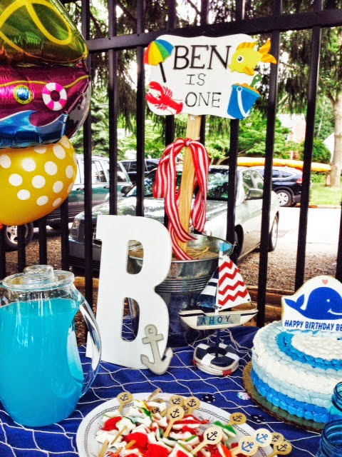 Nautical by Nature | Brittany Lauren Design nautical 1st birthday party