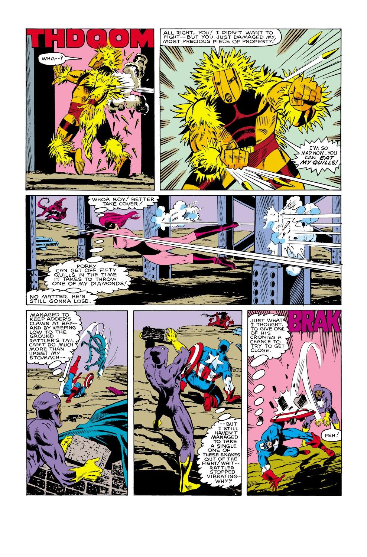 Captain America (1968) Issue #315 #243 - English 19