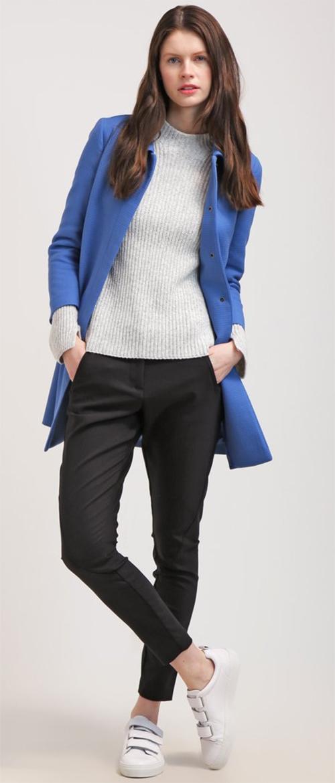 Manteau femme Benetton bleu
