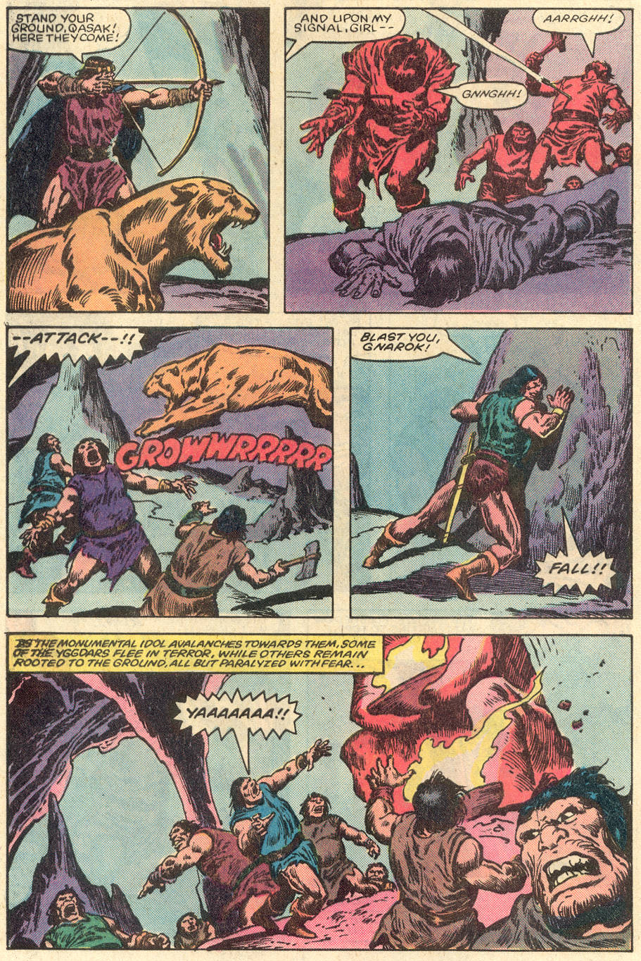 Conan the Barbarian (1970) Issue #151 #163 - English 21