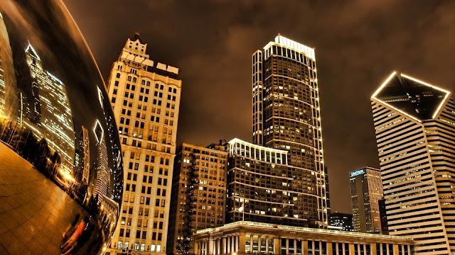 Artistic and Impressive HD Cityscape Wallpaper
