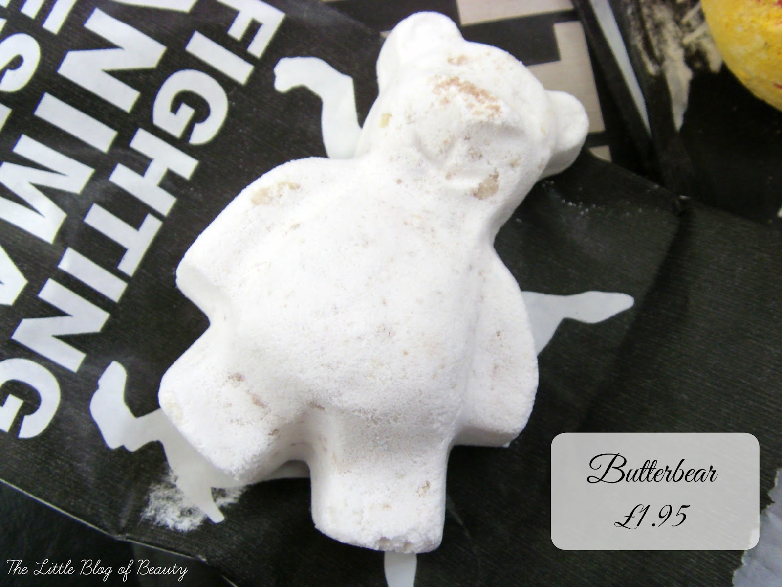 Lush Butterbear bath bomb