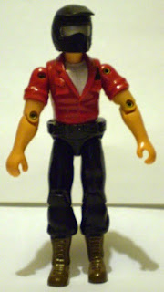 Front of unknown biker action figure