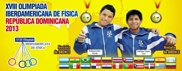 XVII Olimpiada Iberoamericana de Física - República Dominicana 2013 - Medalla de Bronce