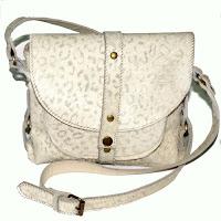 bolso piel leopardo blanco
