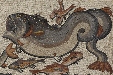 Between land and sea: The extraordinary bestiary of the Roman mosaic of Lod on view at The Louvre