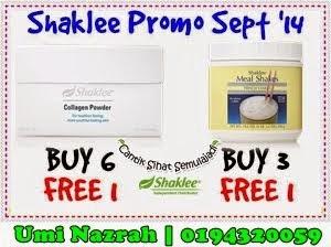 Promo Bulanan Shaklee