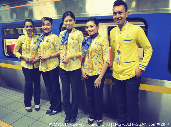 Kembara Homestay Rail Tourism #VMY2014 Bersama ETS KTM