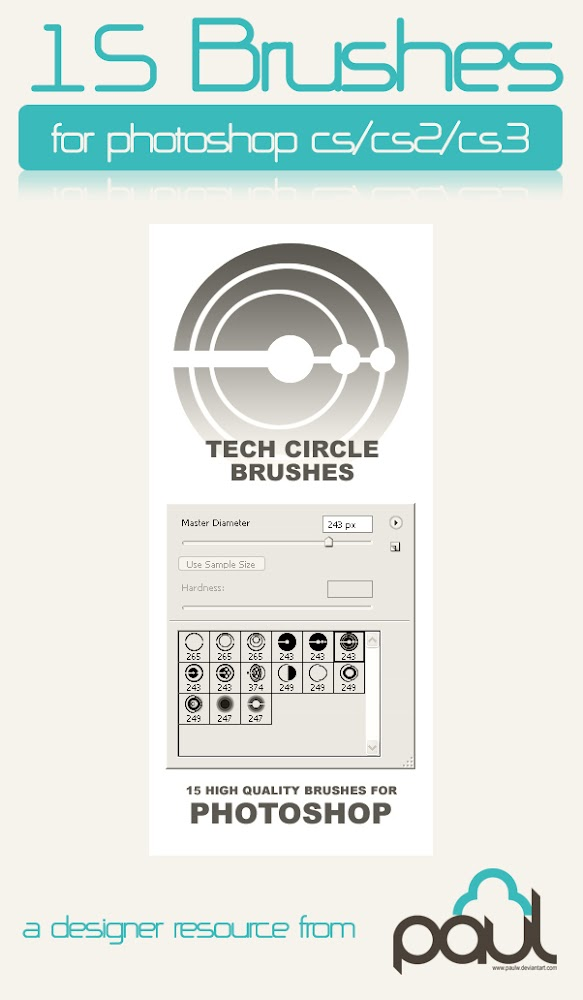 200+ Free Photoshop Tech Abstract Brushes