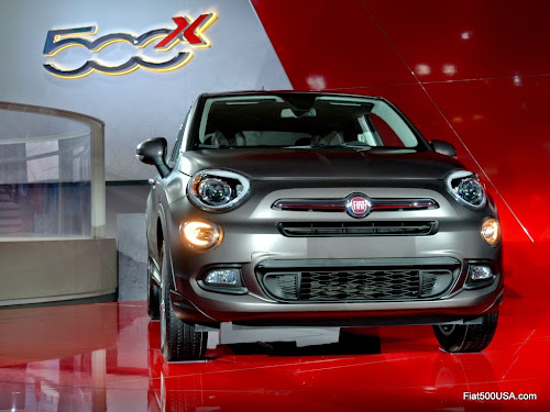 Fiat 500X Lounge Front