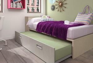 Blog dormitorios juveniles com qu es una cama nido juvenil for Cama nido de 105 con cajones