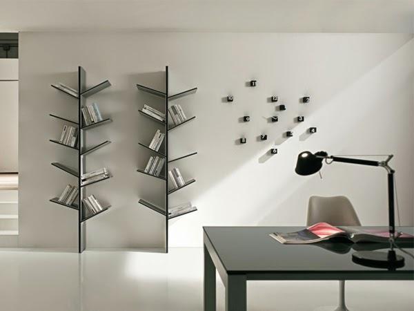 La bibliothèque peut très bien épouser la décoration de votre intérieur