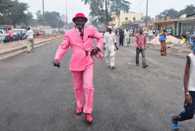 well dressed guys in congo