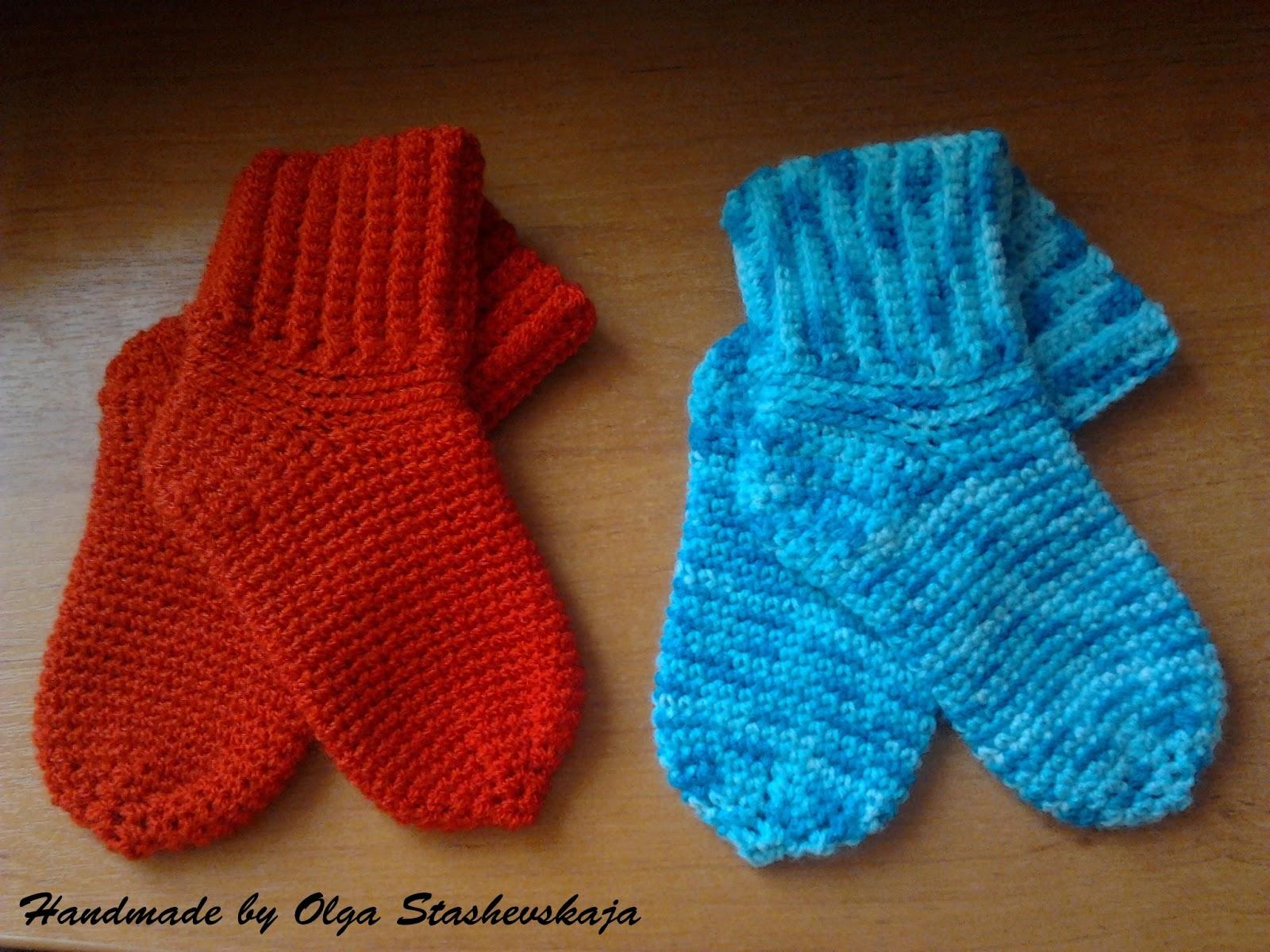 Детские носочки крючком Вязание носочков для