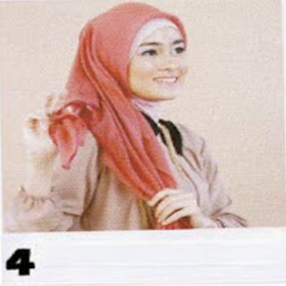 Cara Memakaki Jilbab Segitiga Terlengkap