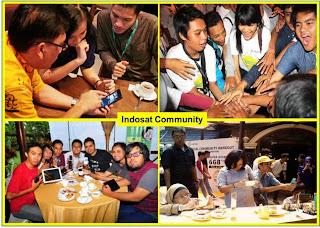 Kehangatan Indosat Community