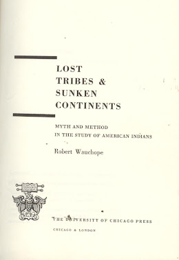 LOST TRIBES & SUNKEN CONTINENTS