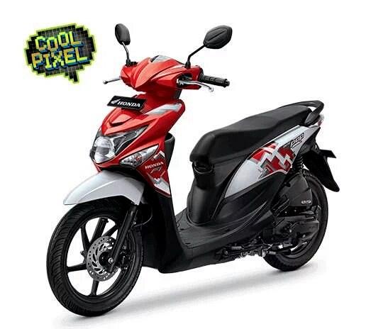 AHM resmi merilis Honda Beat POP eSP dengan tema striping Cool Pixel dan Comic Hits . .