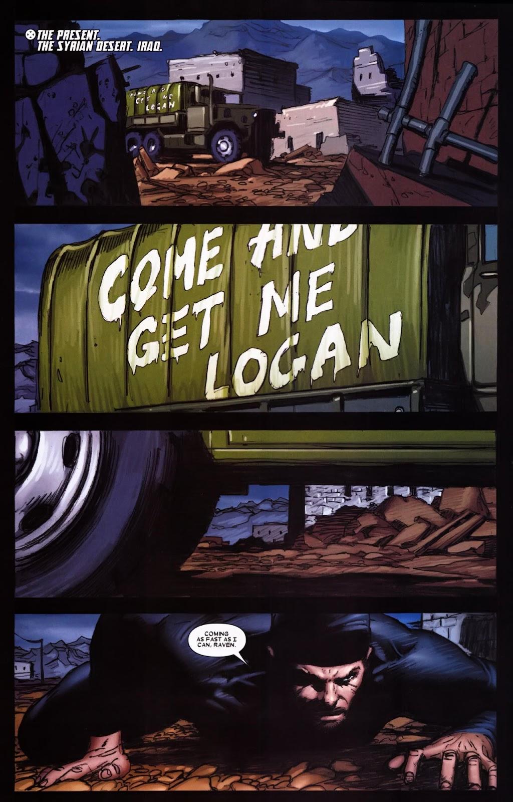 Read online Wolverine (2003) comic -  Issue #65 - 6