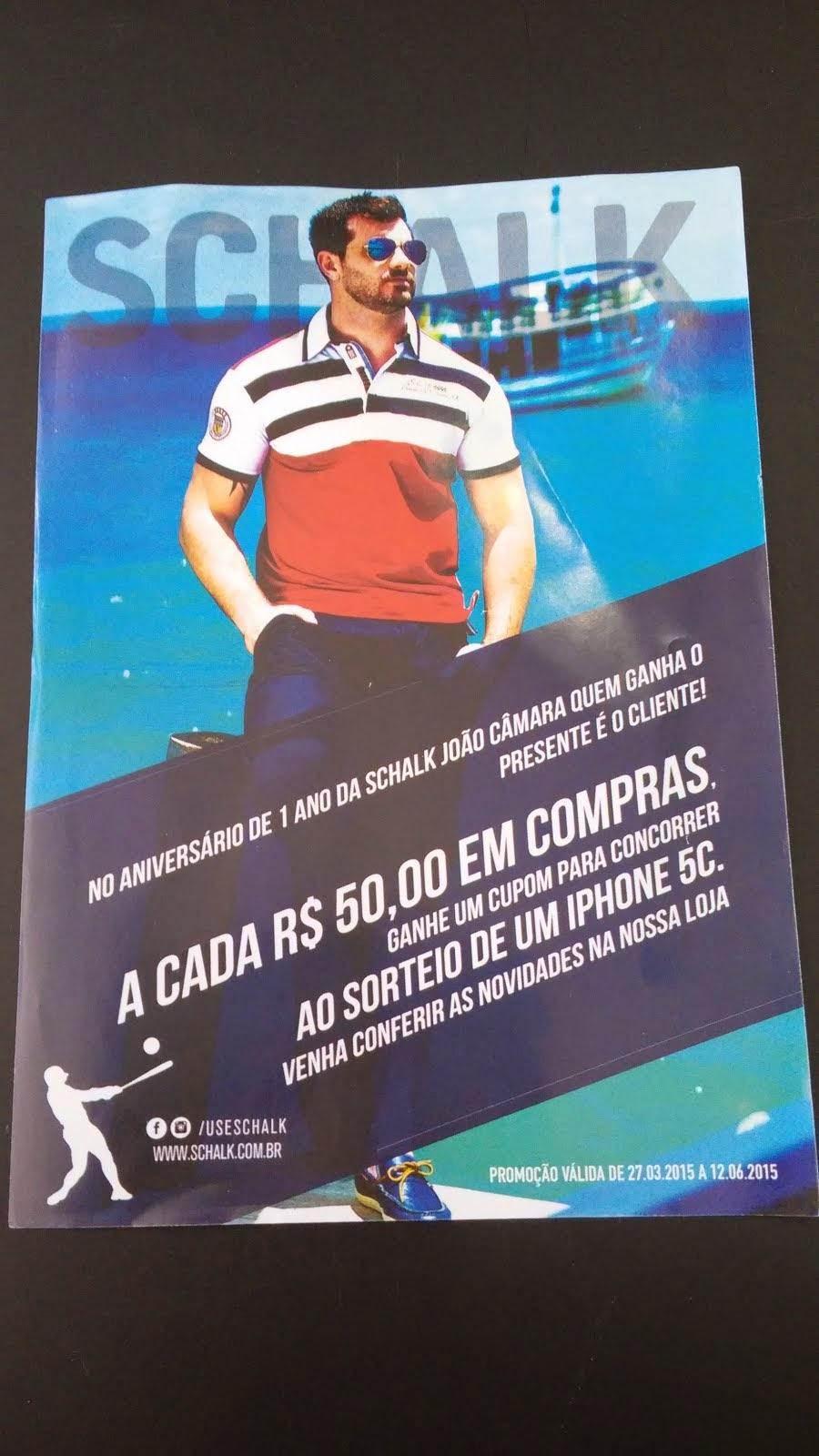 No aniversário de 1 ano da Schalk João Câmara quem ganha o presente é o cliente.