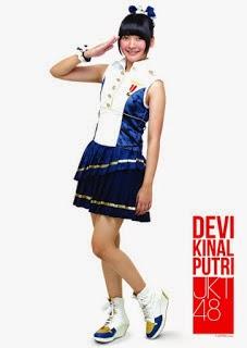 Foto dan Biodata JKT48 Devi Kinal Putri