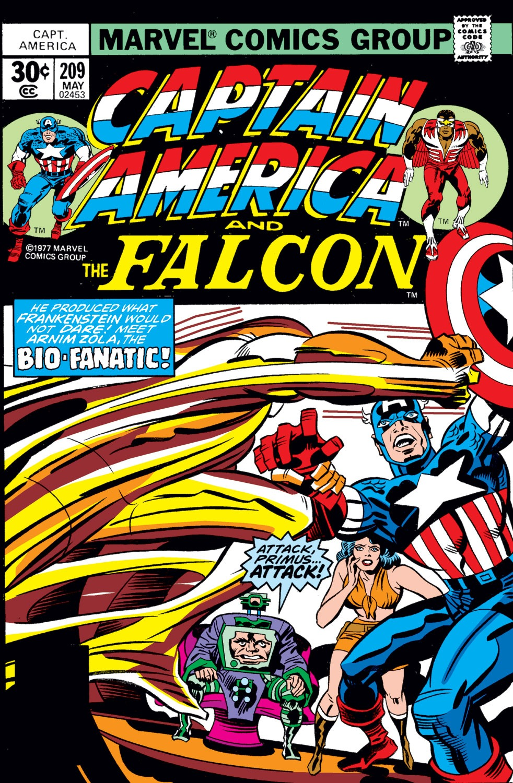Captain America (1968) Issue #209 #123 - English 1