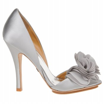 Silver Weding Shoes For Bride 04 - Silver Weding Shoes For Bride
