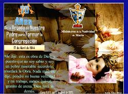 Sitio oficial de la Congregación Misioneros de la Natividad de María