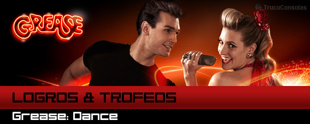 logros trofeos grease dance ps3 xbox 360