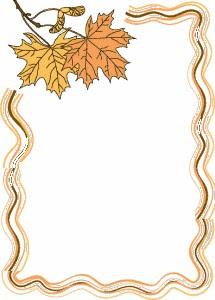 Bordes para decorar hojas