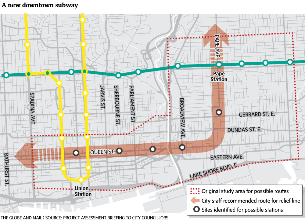 Metrolinx confirms downtown relief line is still on the ...