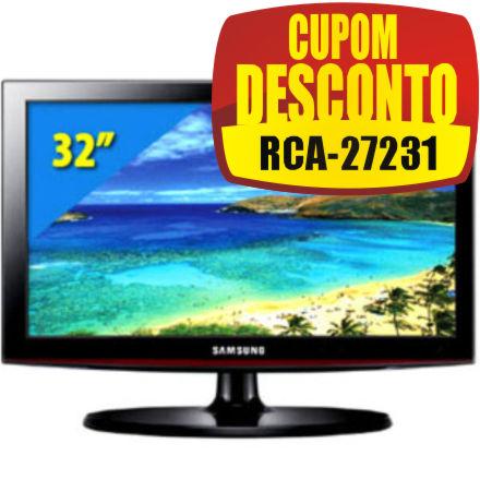 Cupom Efácil - TV 32 LCD Samsung LN32D400