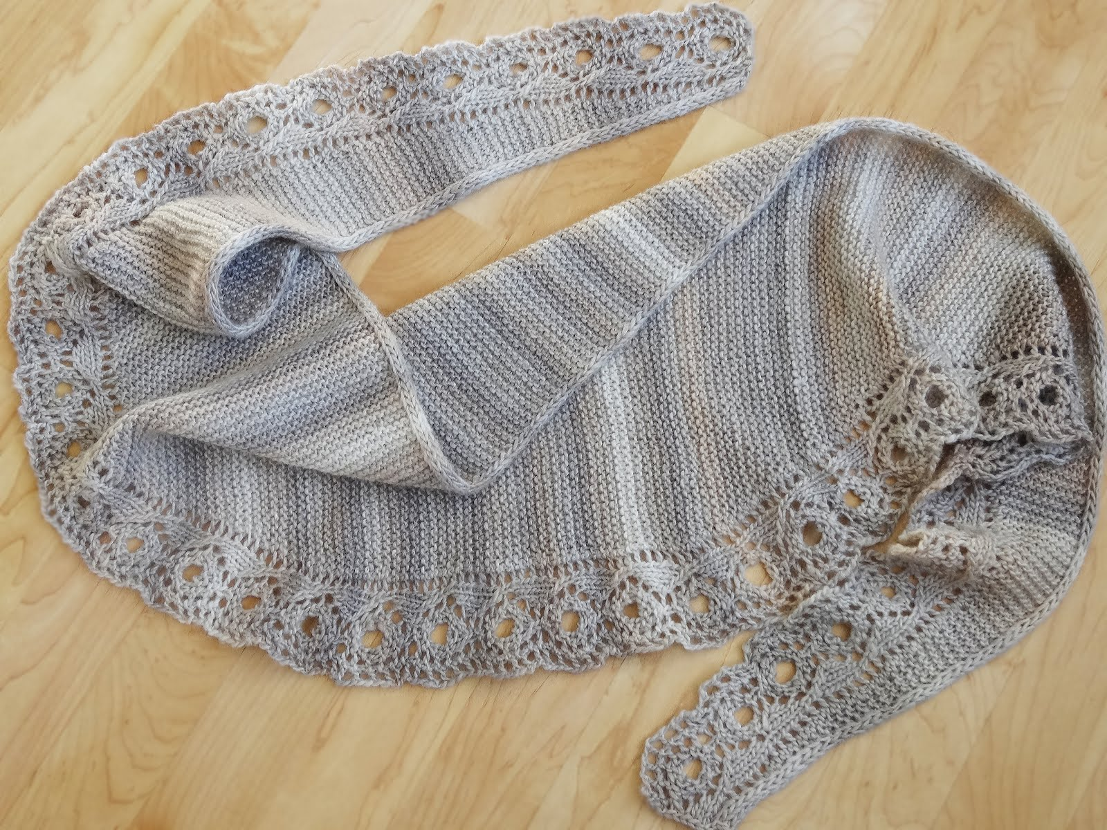 NEW! The Roundabout SHAWL