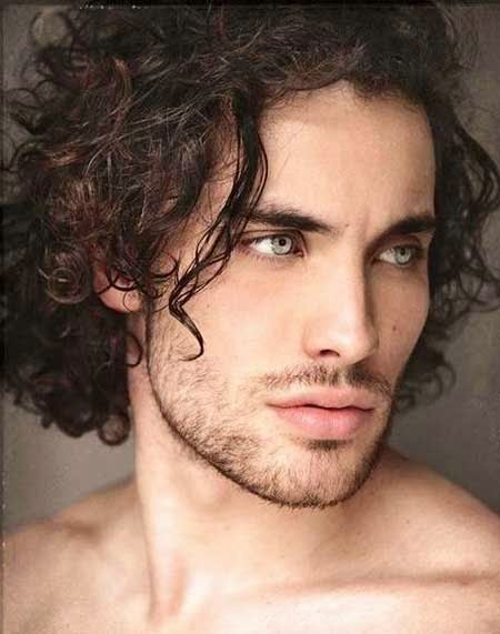 Curly Hair for Men