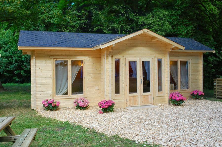 Casas de madera baratas bungalow de madera modelo penelope for Casas de madera baratas