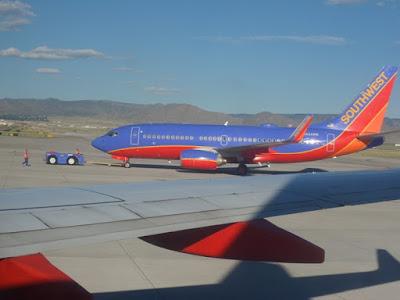 Flight From Albuquerque To Phoenix – NM Leg – August 3, 2015