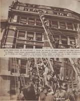 Gevaarlijke reddingen via de brandladder