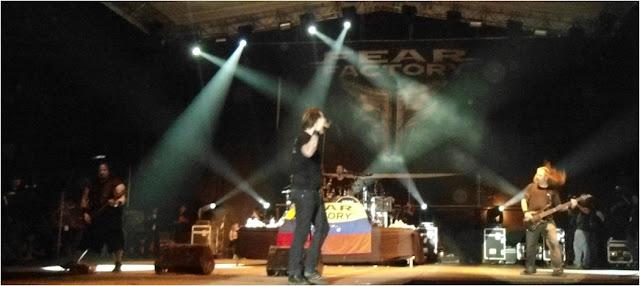Fear Factory Gillmanfest Valencia Venezuela 2012