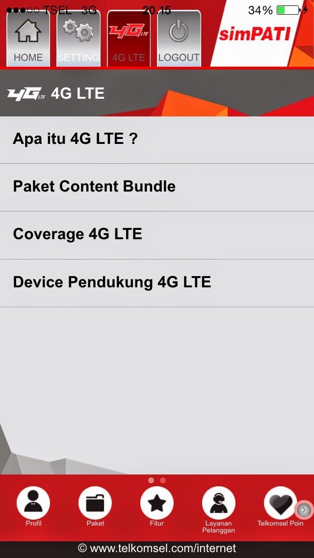 cara registrasi dan daftar paket jaringan 4g lte telkomsel