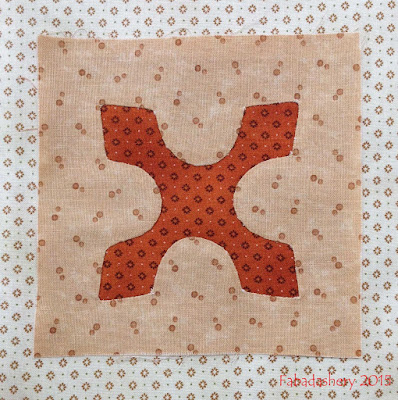 Dear Jane Quilt - Block D3 Jason's Jacks