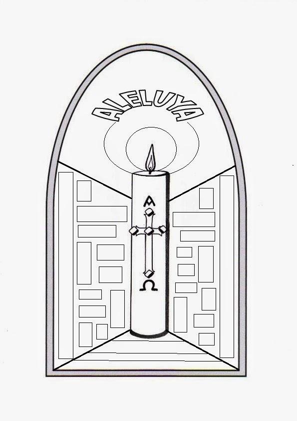 La Catequesis (El blog de Sandra): Recursos Catequesis: El Cirio Pascual