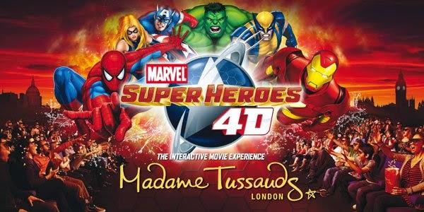 Marvel Heroes 4D