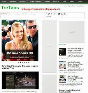 Template TreTans SEO, Adsense Ready By @TukangCoding