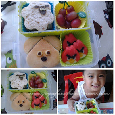 Day 3: A Simple Animal Bento