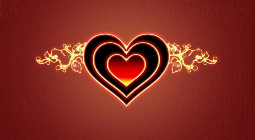 amor corazones. Corazones de amor
