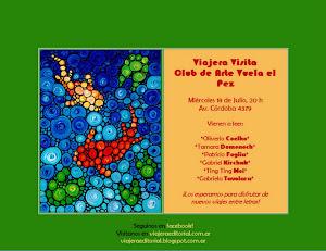 Visita Viajera. Vuela el Pez. 2012.