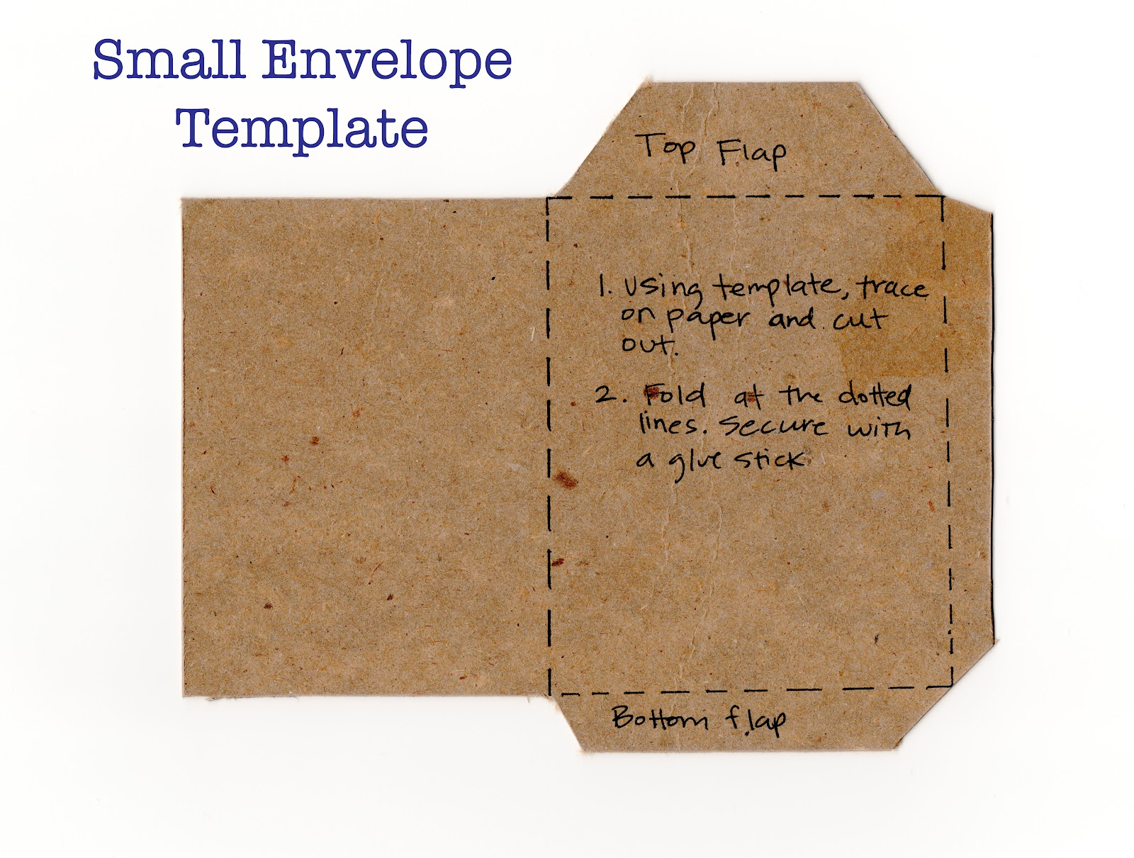 indigo 26: How to Make Your Own Stationary Envelopes