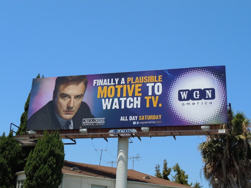 Law and Order Criminal Intent billboard