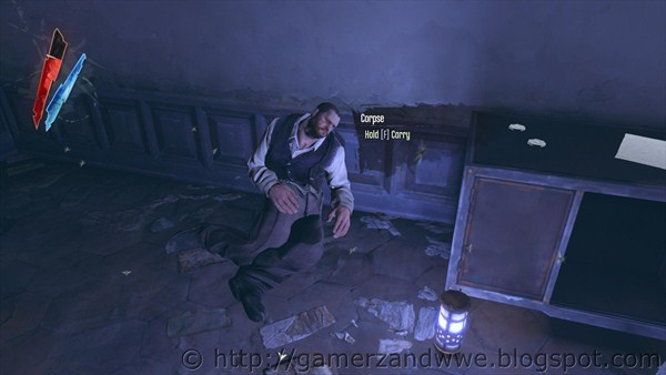 Corpse in Kaldwin's Bridge in Dishonored