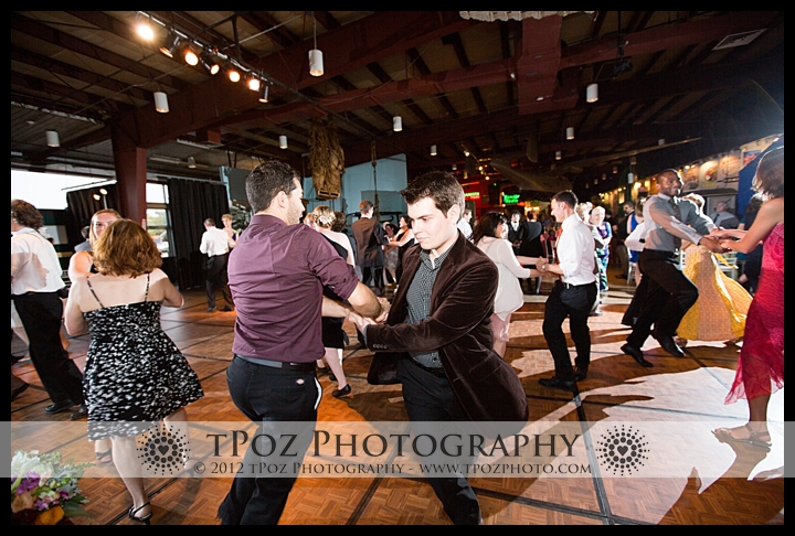 Baltimore Museum of Industry Wedding Reception